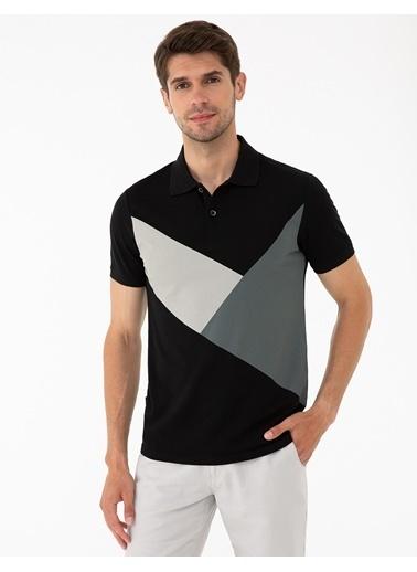 Pierre Cardin Tişört Siyah